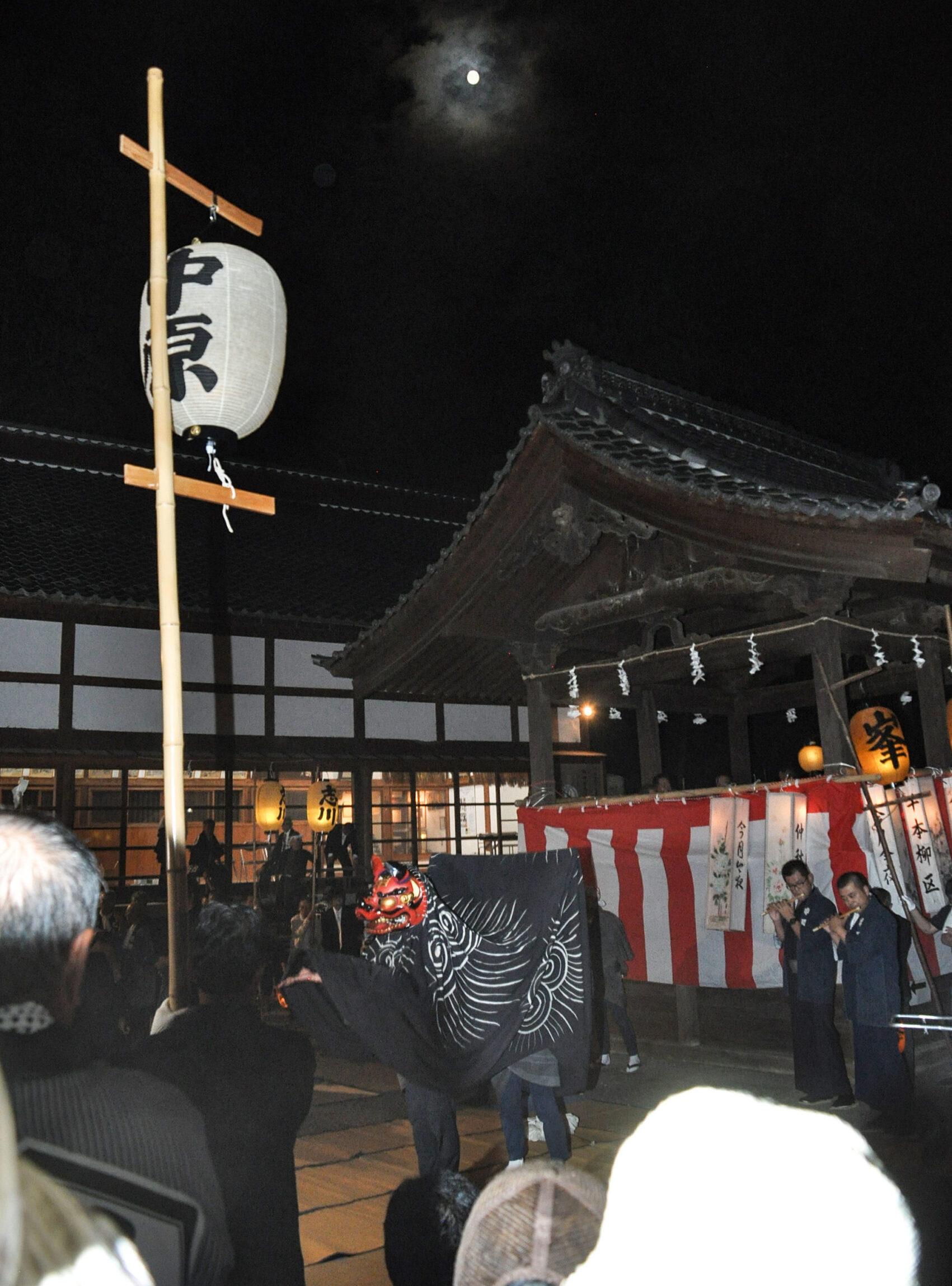 武水別神社の中秋祭
